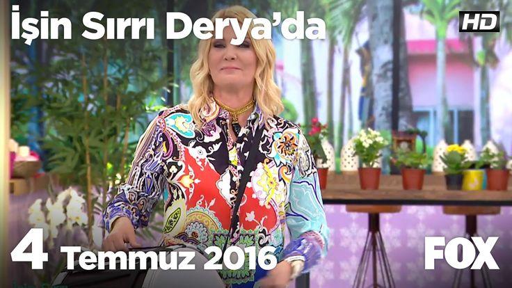 İşin Sırrı Derya'da 4 Temmuz 2016 35.dk da  Dr Oğuz Özyaraldan sağlıklı temizliğin sırları.