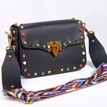 2017 de Lujo mujeres de los bolsos diseñador crossbody bolsos para mujeres de la manera del perno de hombro bolsos de marca famosa mujeres messenger bags(China)