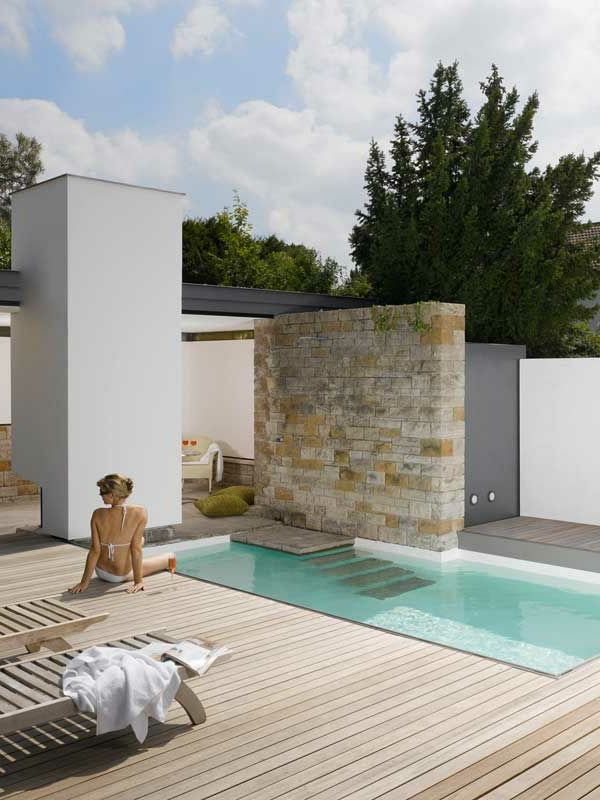 les 25 meilleures id es concernant petite piscine sur. Black Bedroom Furniture Sets. Home Design Ideas
