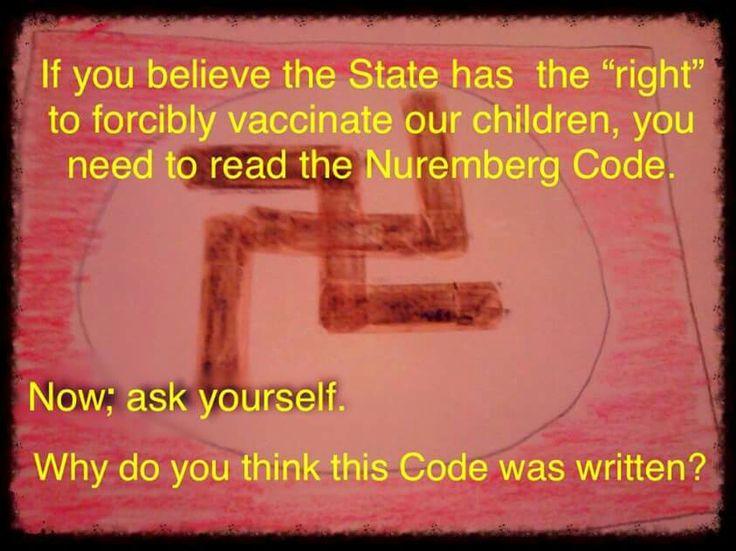Nuremberg Code #NoForcedVaccination