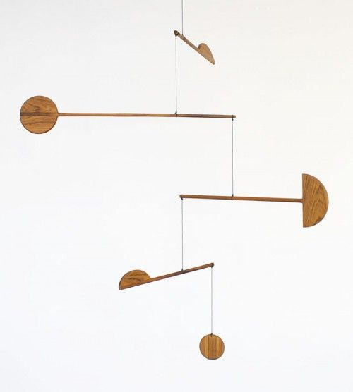 How the cosmos and Alexander Calder inspired my new favorite design. #fortmakers #mobile #mobiles