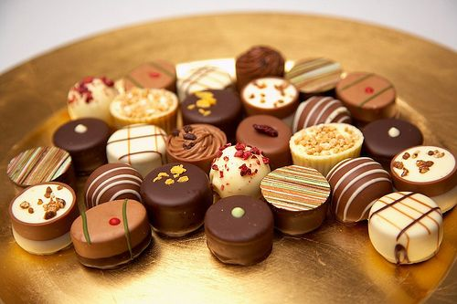 truffles- look at how pretty these are