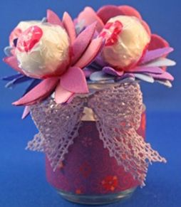 Lollipop Flowers Craft