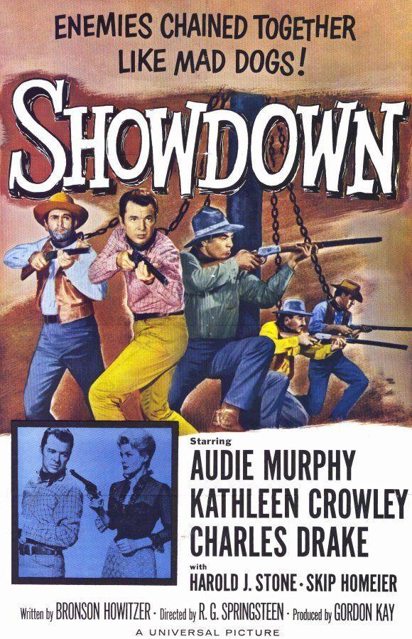 Showdown 1963 Audie Murphy Dvd Movie Posters Vintage Movie Posters Western Movies