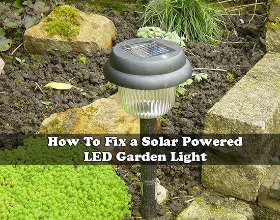 How To Fix Solar LED Garden Light