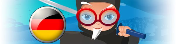 The Professor Ninja German app contains 1000 carefully selected words and phrases, covering the main areas of everyday vocabulary (eg. family, numbers, nature, travel, school, pastimes). To ease the learning process, each word and phrase is accompanied by a picture and an audio recording by a professional native speaker.