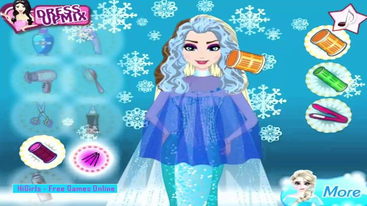 Disney Princess Games ♥ Frozen Elsa Maternity Designs ♥ Girl Games For F...