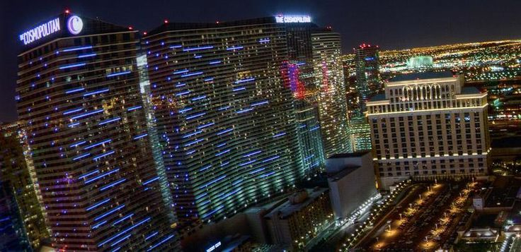 "Cosmopolitan Hotel & Casino's is one of the newer hotels in Las Vegas, located right on the Las Vegas Strip. The ""Cosmo"" resort is comprised of two high-rise towers; East and West, both of which provide luxury accommodations and amenities such as private terraces to hotel guests."