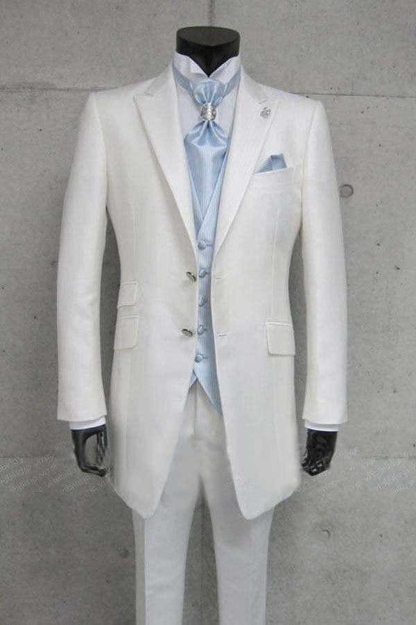 pas cher pantalons pour hommes slim fit skinny blanc hommes costumes de mariage epoux m 0701. Black Bedroom Furniture Sets. Home Design Ideas