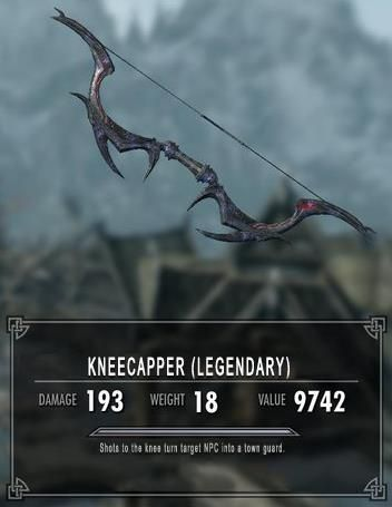 Kneecapper, the bane of all knees ~ I don't know if this is real of not, but I died laughing.