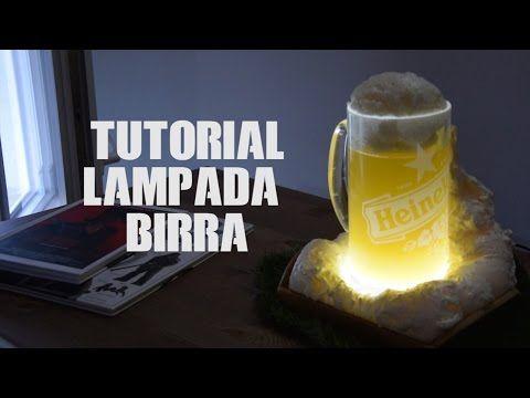 Lampada LED a forma di birra economica TUTORIAL - YouTube