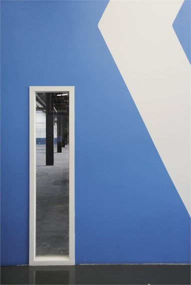 De Overkant - Amsterdam, Netherlands - 2011 - CUBE architecten #architecture #colors #wall #blue