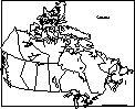 Canadian Map - ZoomSchool.com