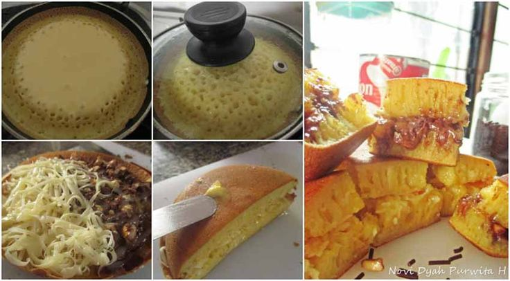 Martabak Manis Teflon Cuma Butuh 1 Telor Resep Makanan Dan Minuman Ide Makanan