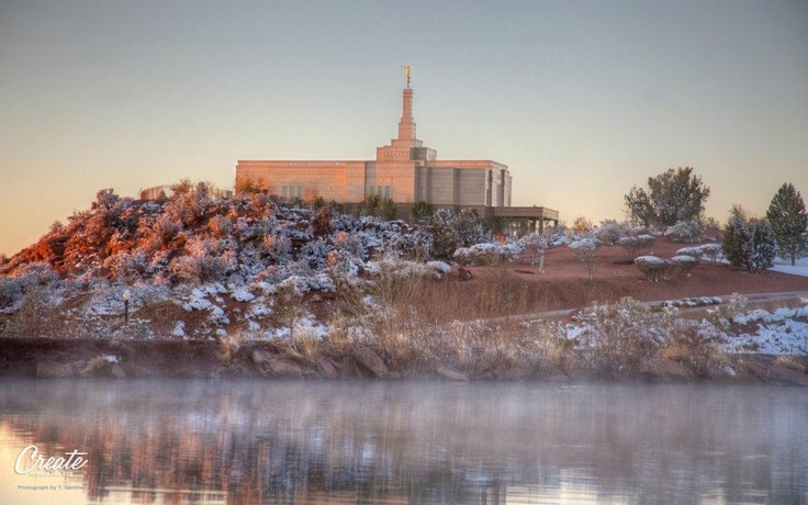 Snowflake Arizona Temple where we serve with love and joy.
