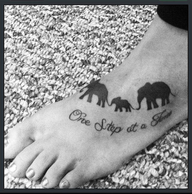 My elephant tattoo :)