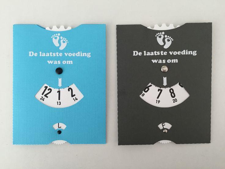 Baby Voedingskaart - Welkom bij Borduur-kado.nl. Goedkope geborduurde geschenken met naam