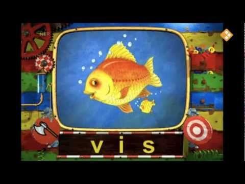 Het filmpje dat bij het woordje vis hoort.