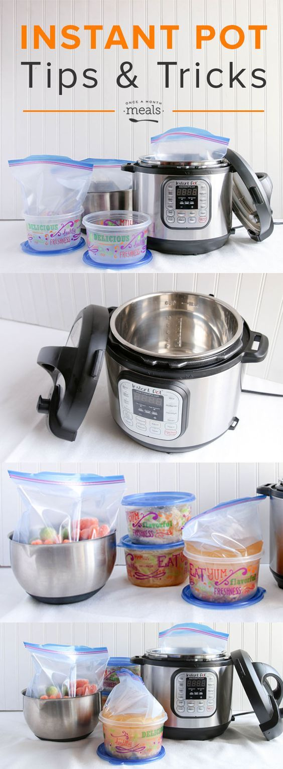 We are sharing our best instant pot tips and tricks including how to cook your freezer meals from frozen in the instant pot!