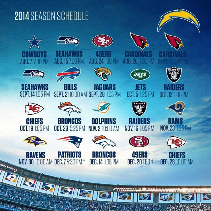San Diego Chargers Calendar: 14 Best Images About Chargers ⚡️⚡️ On Pinterest