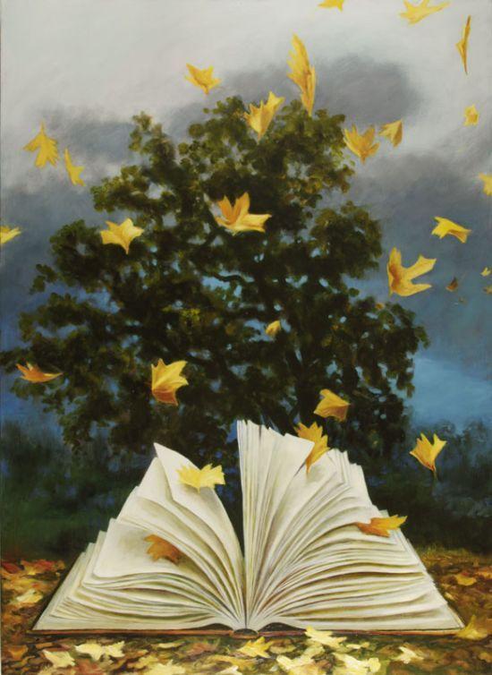 Memory: Thunder and Falling Leaves © Deborah DeWit