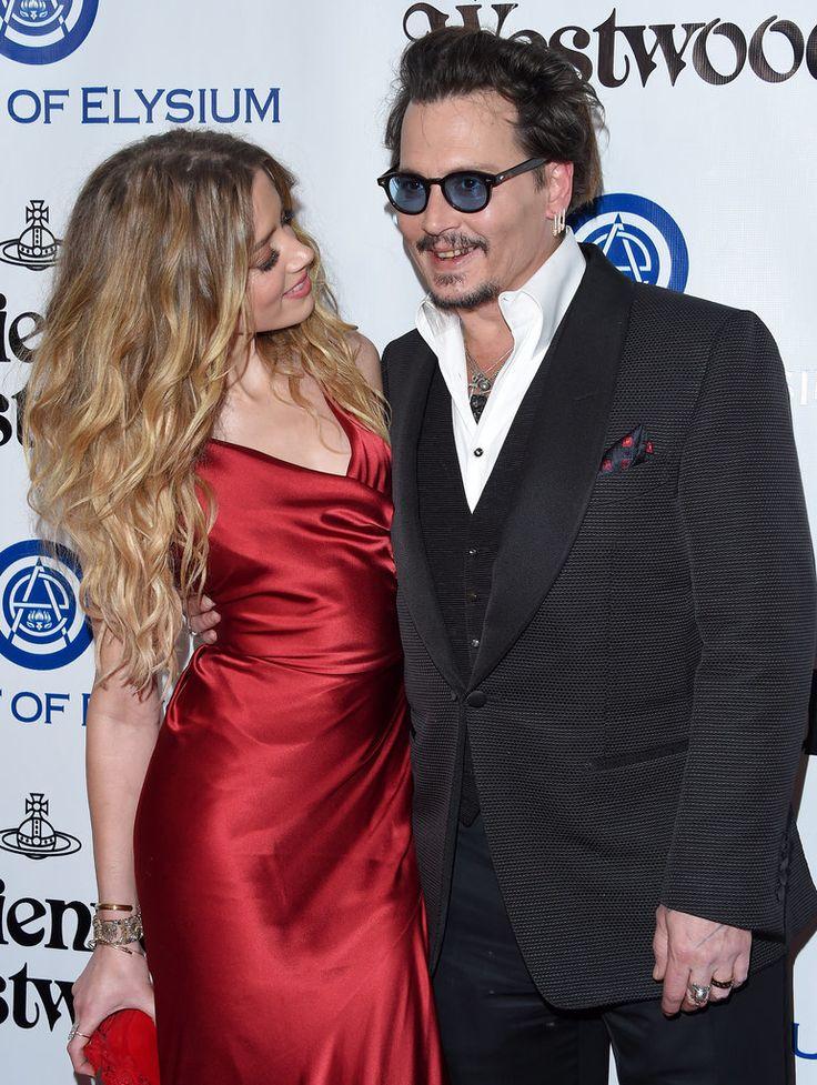 Hot Johnny Depp and Amber Heard Pictures | POPSUGAR Celebrity