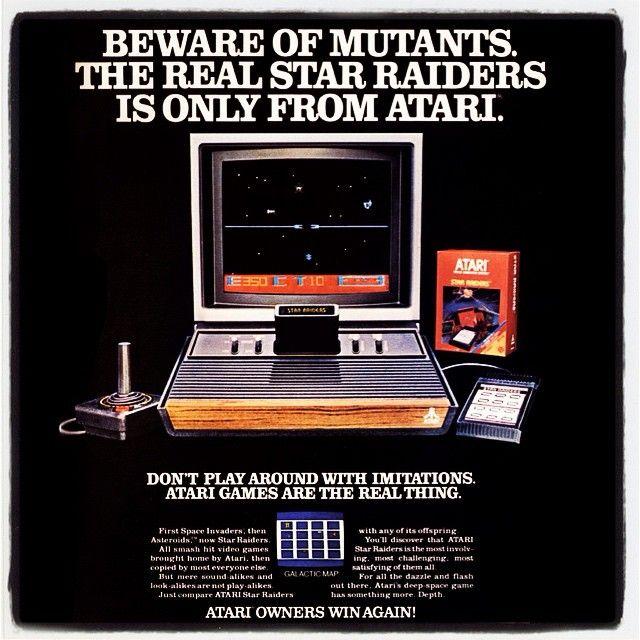 Star Raiders (Atari 2600)atarigames:  Atari 2600 Star Raiders  #playataritoday #atari #atarigames #atari2600 #atari5200 #atari7800 #atarilynx #atarijaguar #classicgaming #tbt #throwbackthursday #retro #nintendo #wired #80s #advertising #starwars #avgn #to