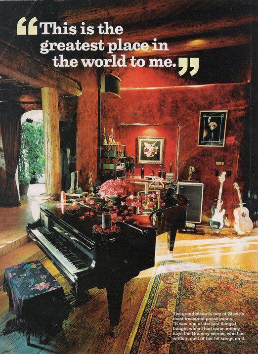 Inside Stevie Nicks S Old Home Desert Rose On Paradise