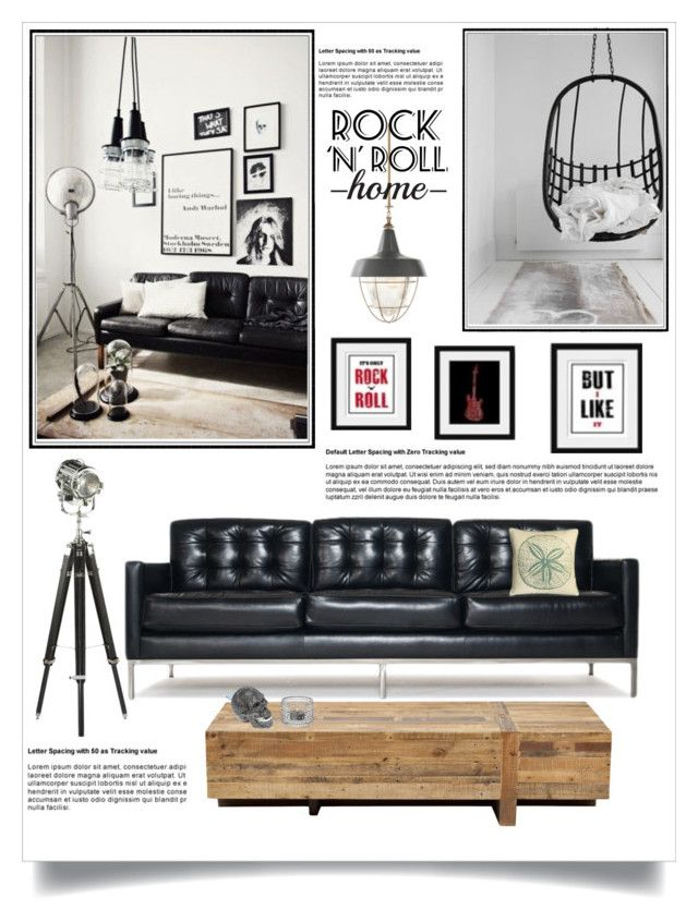 Rock N Roll Home By Jecikilicica Liked On Polyvore Featuring Interior
