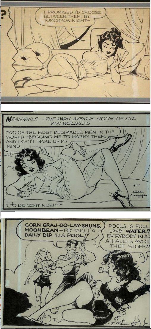 FRANK FRAZETTA - Li'l Abner strips - prints by comicartfans.com