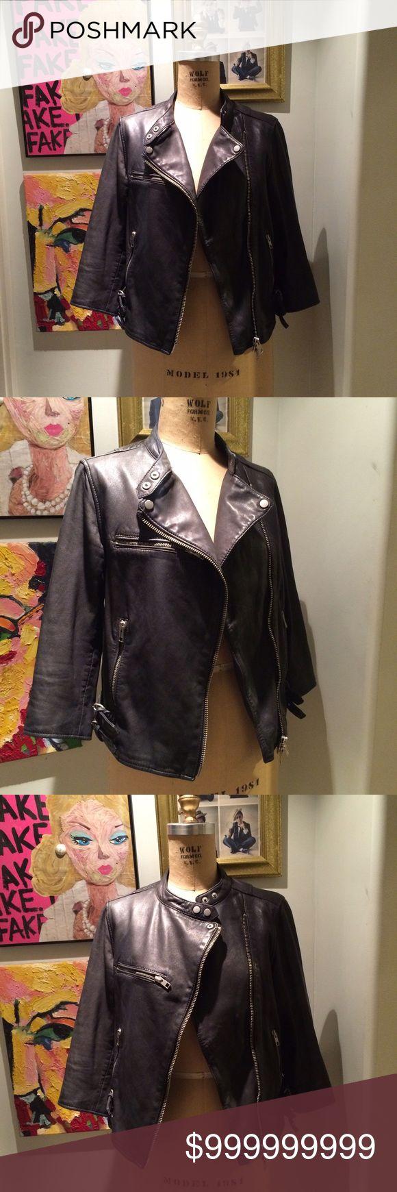 All Saints Leather Jacket All saints leather jacket