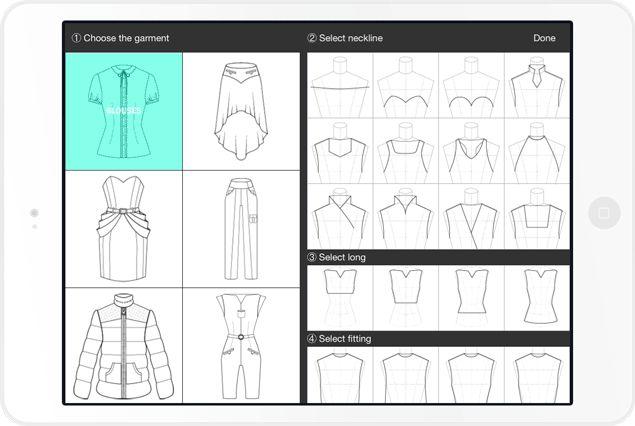 app para diseño de moda - Fashion Design App