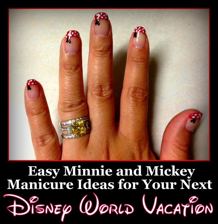 Halloween Nail Art Designs Without Nail Salon Prices: 17 Best Ideas About Disney World Nails On Pinterest