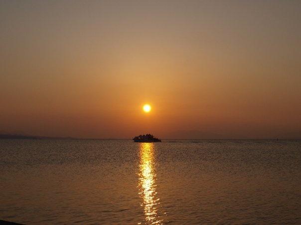 Shimane, Shin-ji lake's sunset