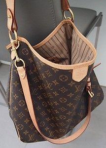 orig. LV Louis Vuitton Delightful MM mit Schulterriemen! TOP | eBay
