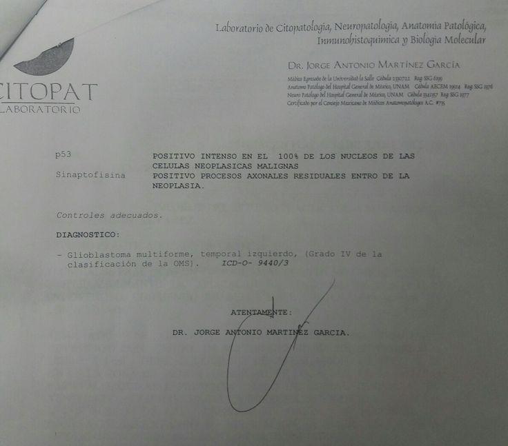 Resultado biopsia histopatologico