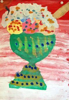 Sommer, Kunstunterricht Grundschule, Anke Kremer