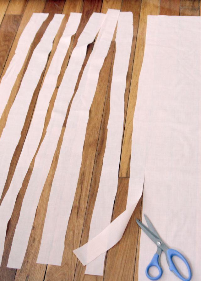 Make A Fabric Banner - Decor Fix
