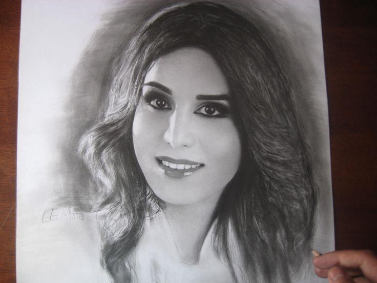 ''Ayten'' Portrait Pencils on paper ;)