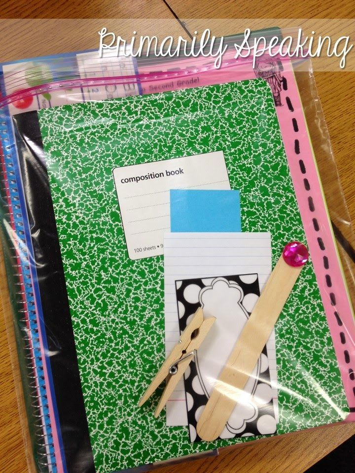 New Student Bags...plan ahead and always be prepared for the arrival of a new student!