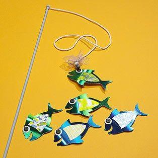 Brincadeiras de festa junina - pescaria