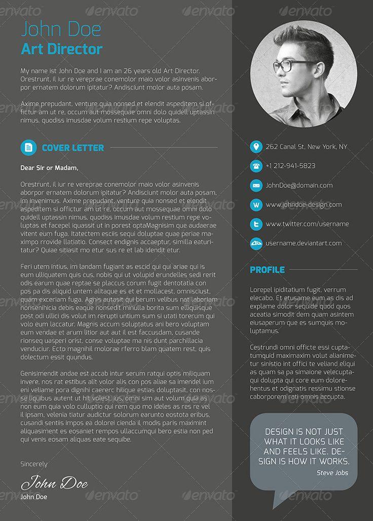 CV profesional con diseño limpio y clásico en negro