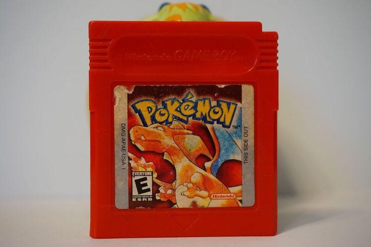 Pokemon Red Edition nintendo game boy color gbc gameboy English SAVE USA 3908