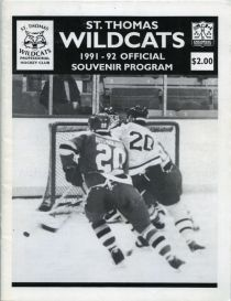 St. Thomas Wildcats Game Program