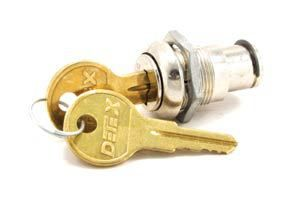 DETEX PP-5572 Cover Lock Set For ECL-230D Parts and EAX-500 Parts