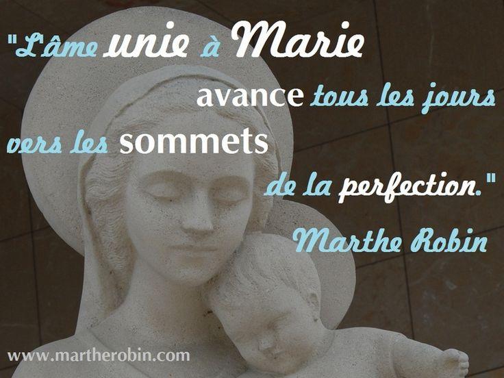 L'âme unie à Marie...