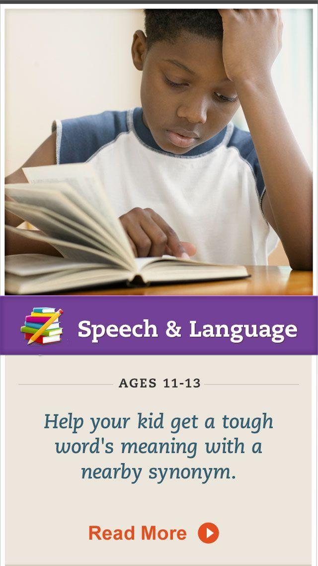 Help your child to figure out  definitions of new words by looking for nearby synonyms. Click for details. #SpeechandLanguage