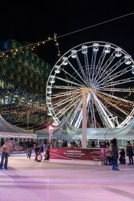 Ice rink and big wheel coming back to Birmingham for Christmas 2015 - Birmingham Mail
