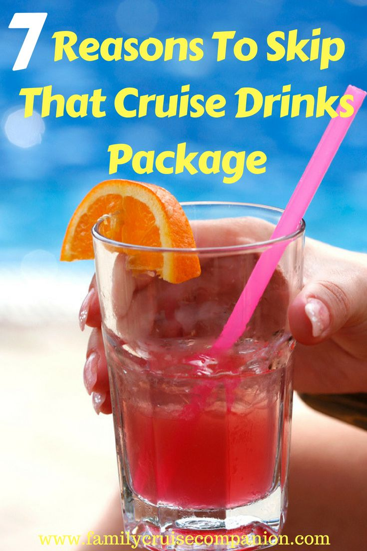 Trying To Figure Out The Pros And Cons Of Getting That Drink Package Start Here Find Out The Real Beverage Packaging Carribean Cruise Carnival Drink Package