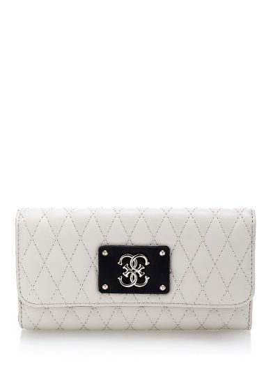Aliza quilted fold-out Wallet